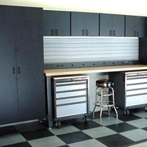 Garage I cabinets 1